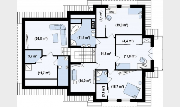 Romanian house plans with attic beautiful homes for any family size - Neo romanian architecture traditional and functional house plans ...