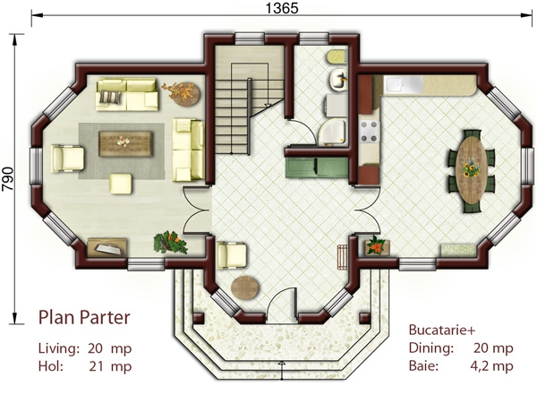 small house plans with three bedrooms 3 1st floor plan