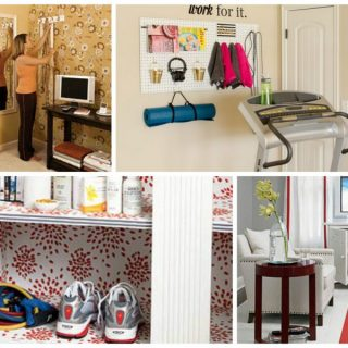 how to create a workout space at home