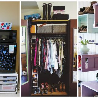 space-saving tips for your dorm room