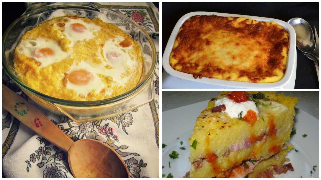 baked polenta with cheese recipes