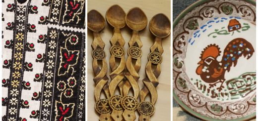beautiful Romanian folk motifs