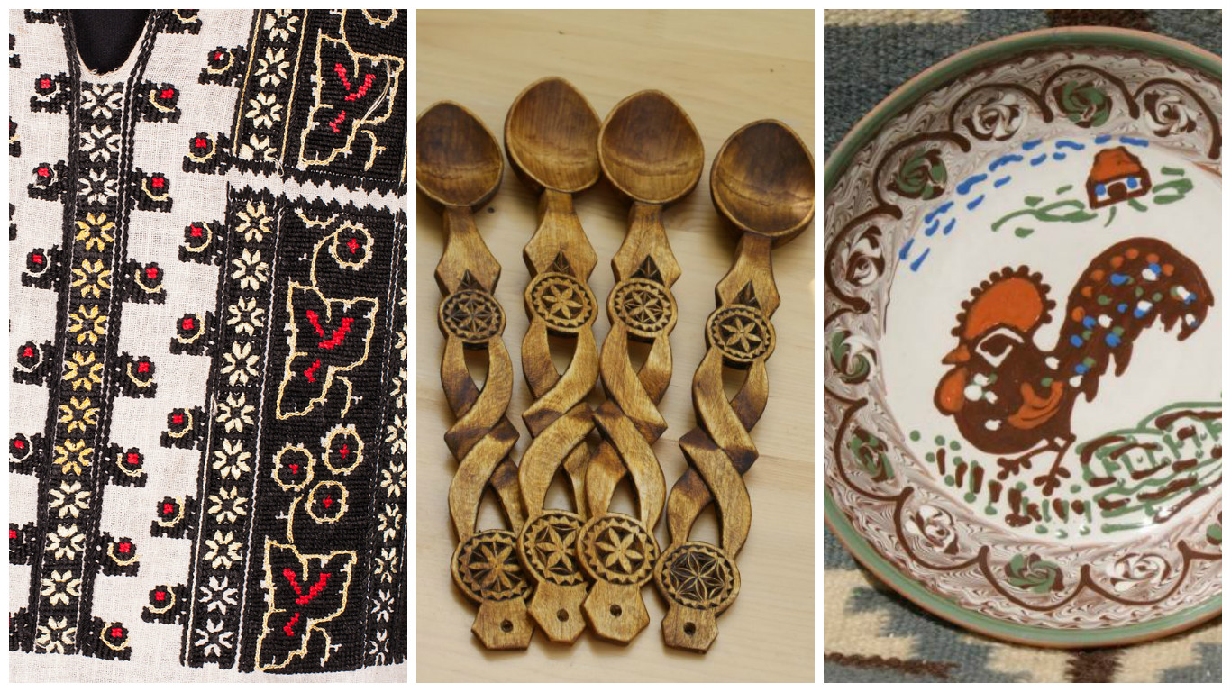 Beautiful Romanian Folk Motifs And The Objects They Are Depicted On