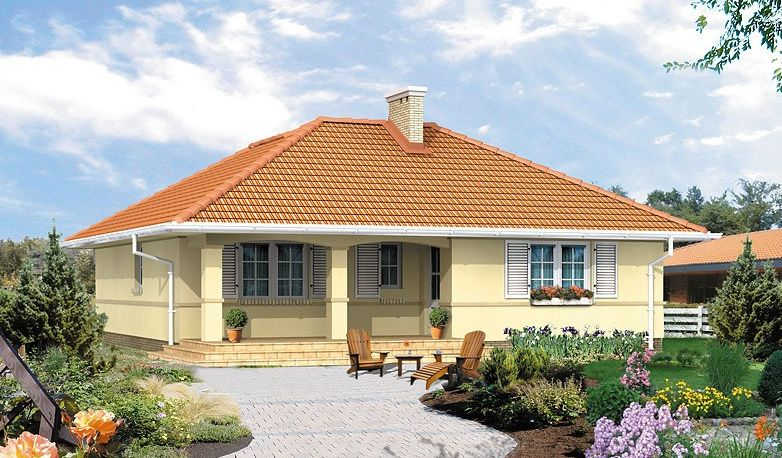 traditional one storied house plans