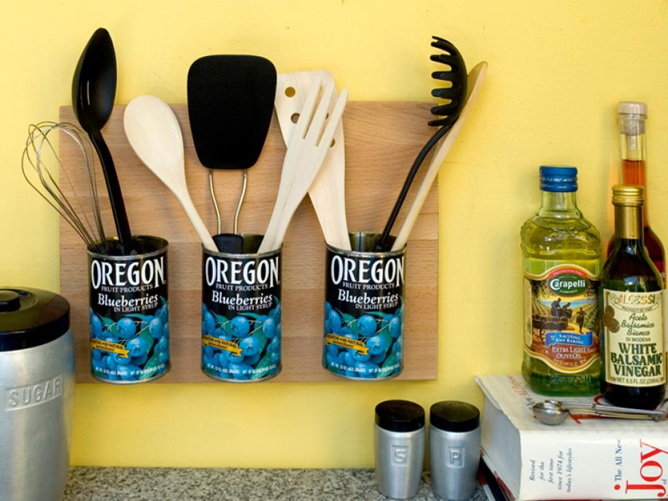 small tricks for organizing a kitchen