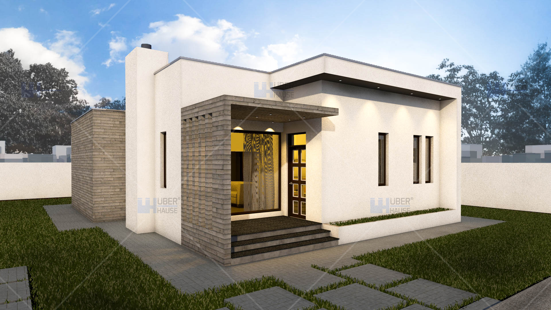 Wooden cube house plans economical homes of all sizes for Houses and their plans