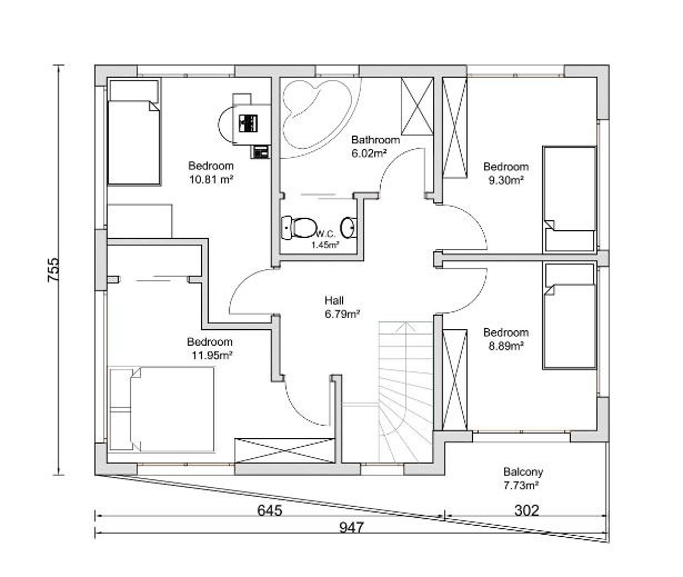Cube house plans 28 images wooden cube house plans for Cube house design layout plan