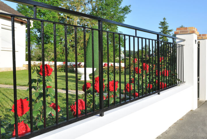 beautiful inexpensive fence design ideas - Fence Design Ideas