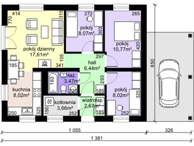 Low cost house plans up to three bedrooms for the price for 3 bedroom low cost house plans