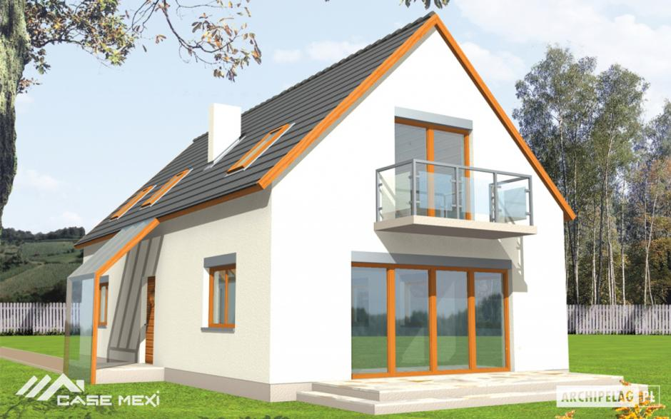 Simple house plans with attic most practical budget homes for Practical house plans