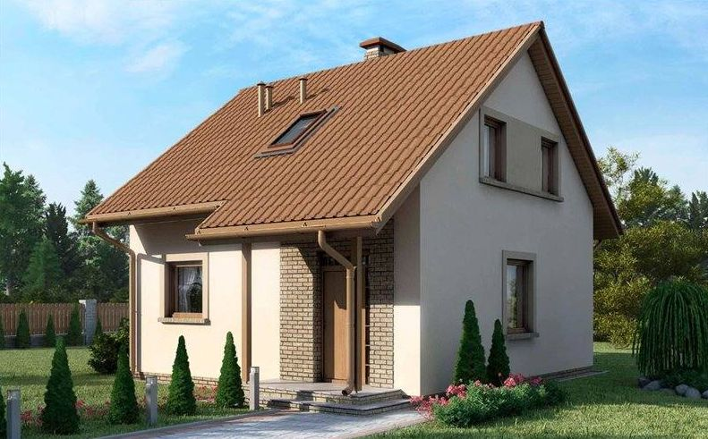 House With Attic simple house plans with attic. most practical, budget homes