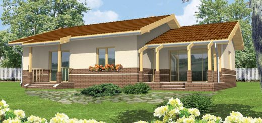 house plans with rear porch