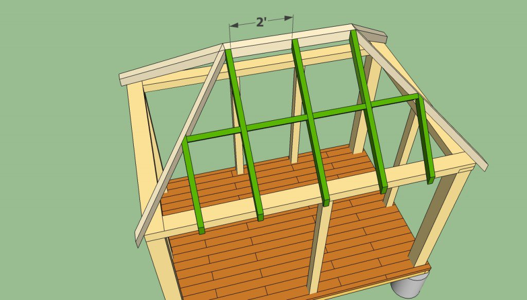 How to build a rectangular gazebo step by step guide and models - Construire un gazebo ...