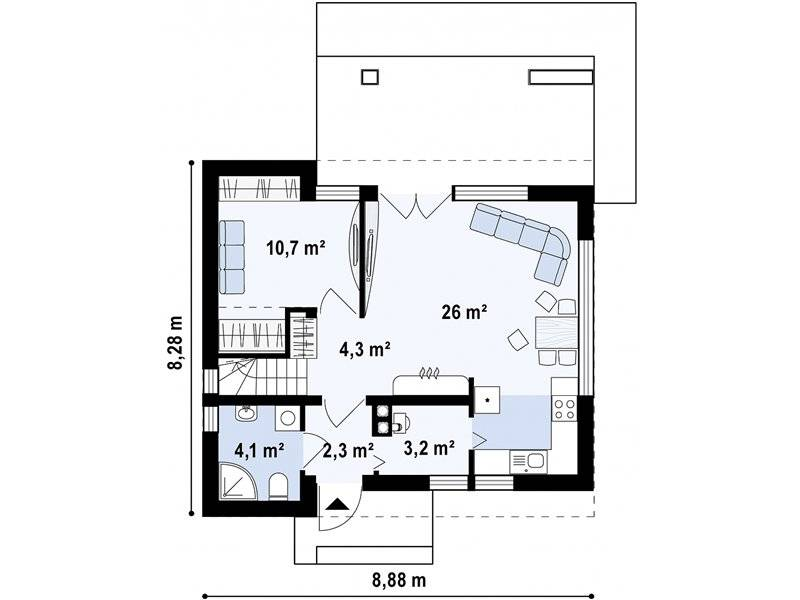 house plans outside the city