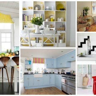 Decorating ideas for a more cheerful kitchen archives houz buzz - Decorating ideas cheerful kitchen ...