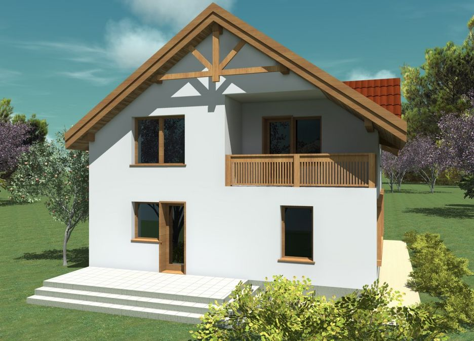House plans with enclosed kitchen three homes with a more traditional division - Houses attic enclosed kitchen ...