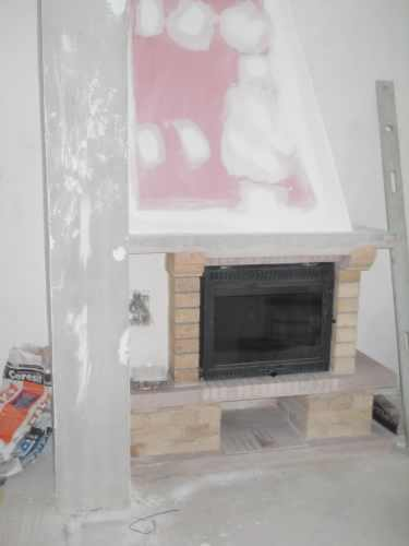 how to build a sealed fireplace
