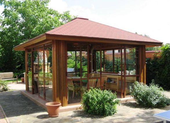 Gardens with central gazebos designs and placement ideas - Gardens central gazebos designs placement ideas ...