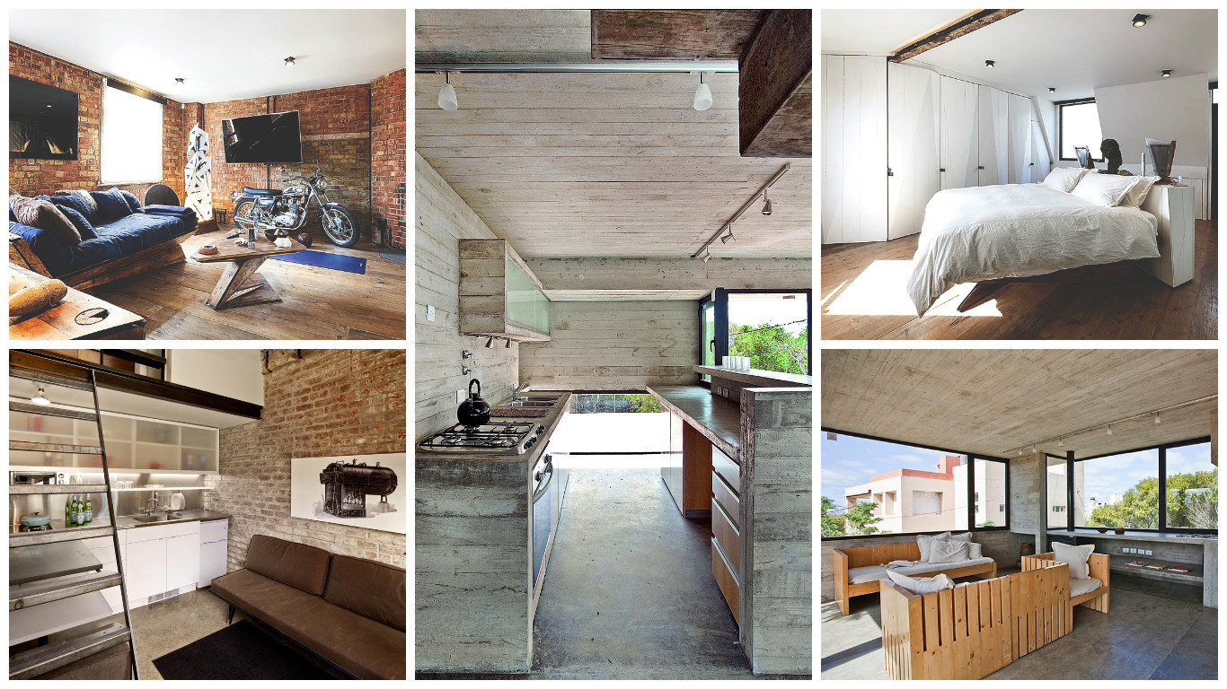 Industrial Style Homes When Austerity Smartly Turns To Luxury