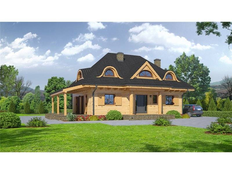 Hip Roof House Plans Small and Medium Size Homes With Up To 5