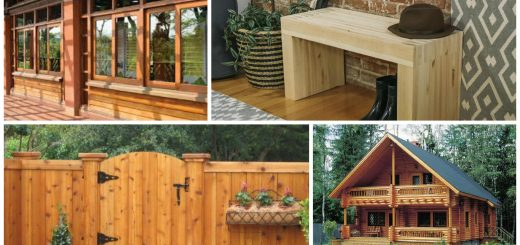 treating outdoor wood surfaces