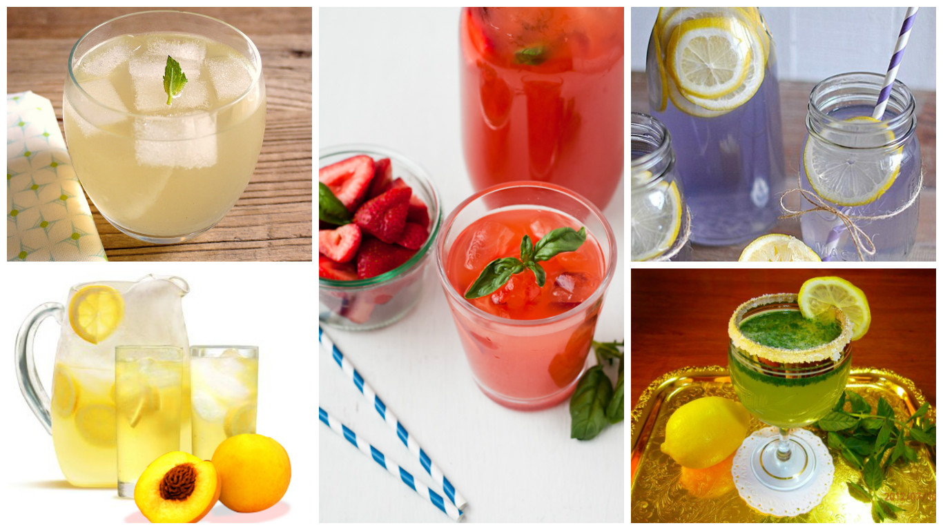 Lemonade recipes to try out this summer most popular or less known - Lemonade recipes popular less known ...