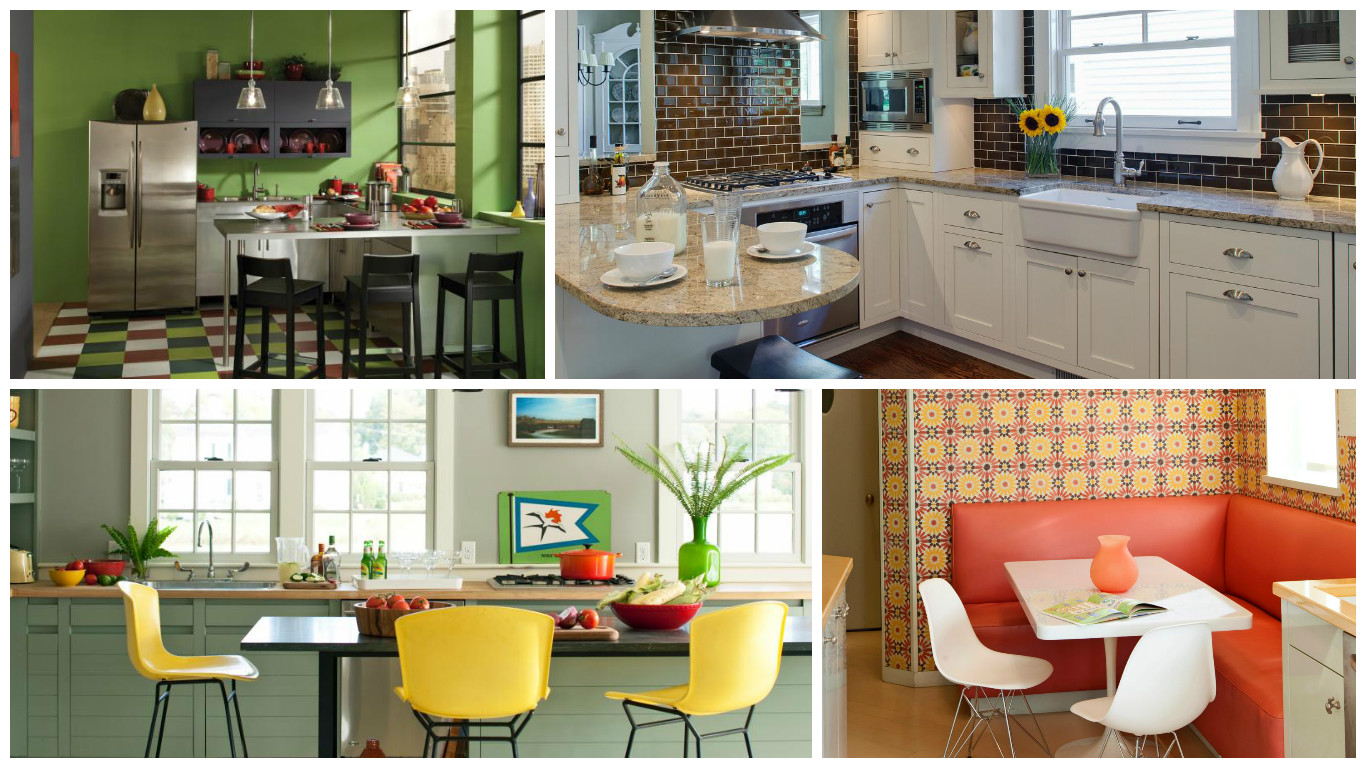 Suitable colors for the kitchen the energy you need to begin the day - Suitable colors kitchen energy ...