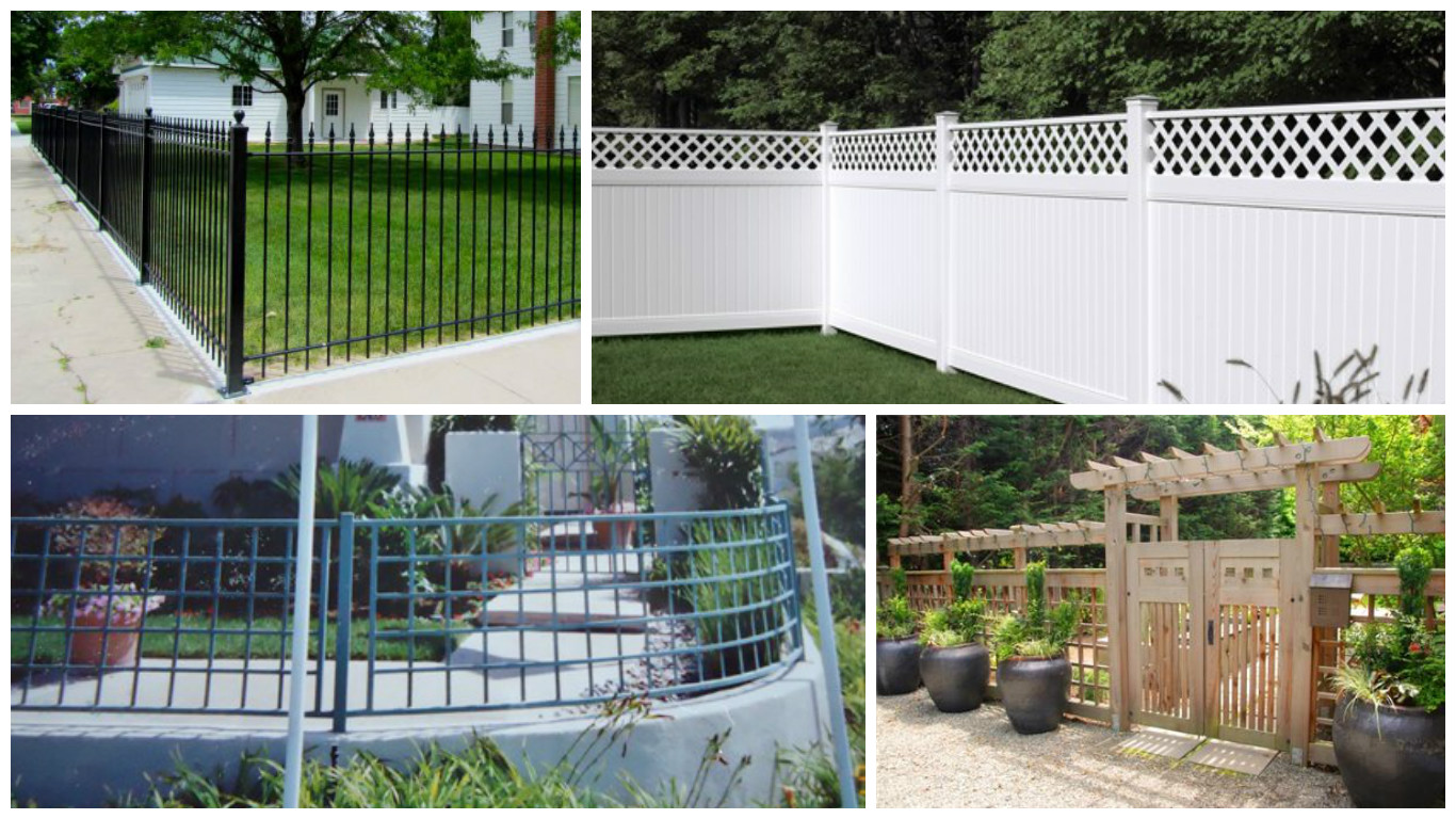The most frequent fence materials with their advantages and disadvantages - Most frequent fence materials ...