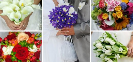 flowers for good luck in the bridal bouquet