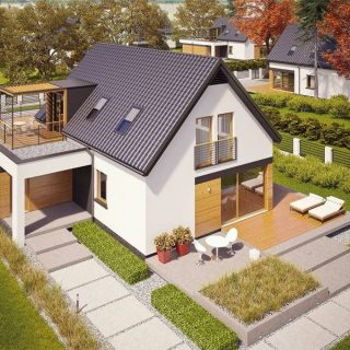 houses with garage deck