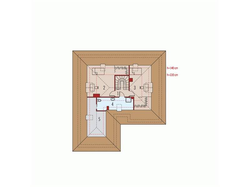 Hip roof houses with attic three plans filled with personality - Hip roof houses attic ...