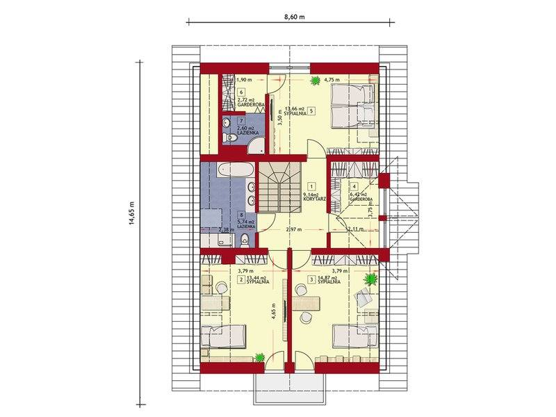 Modern 4 bedroom 3 bathroom house plans comfort above all Above all house plans