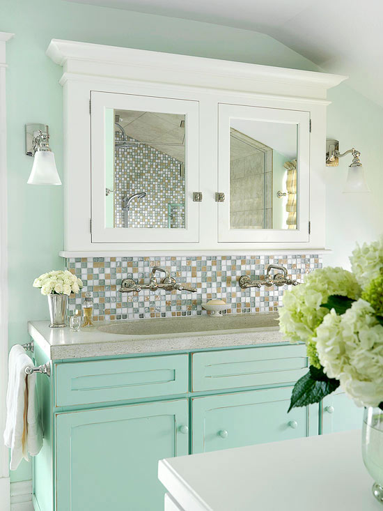 how to choose your bathroom's palette