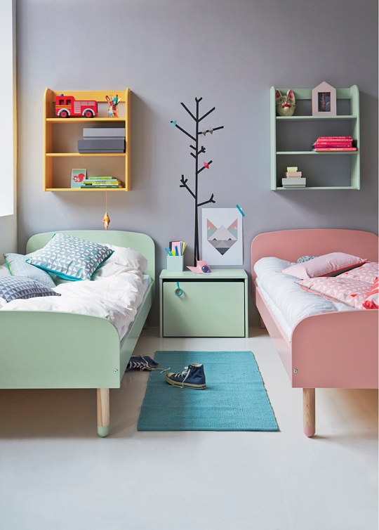 Children\'s Bedroom Decorating Ideas. Playing In Style