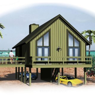 vacation houses at the seaside