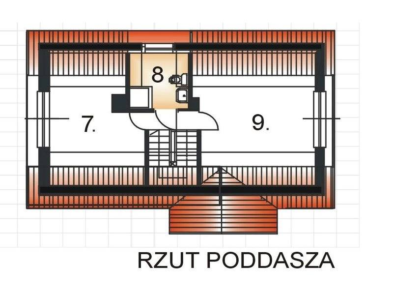 houses with bedroom on the first floor