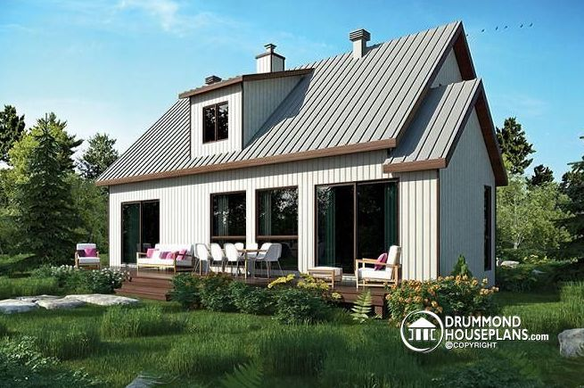 Scandinavian house plans elegance matched with cosiness for Scandinavian farmhouse plans