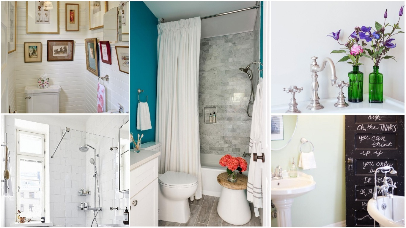 Cheap and easy ways to decorate your bathroom houz buzz for Pictures for your bathroom