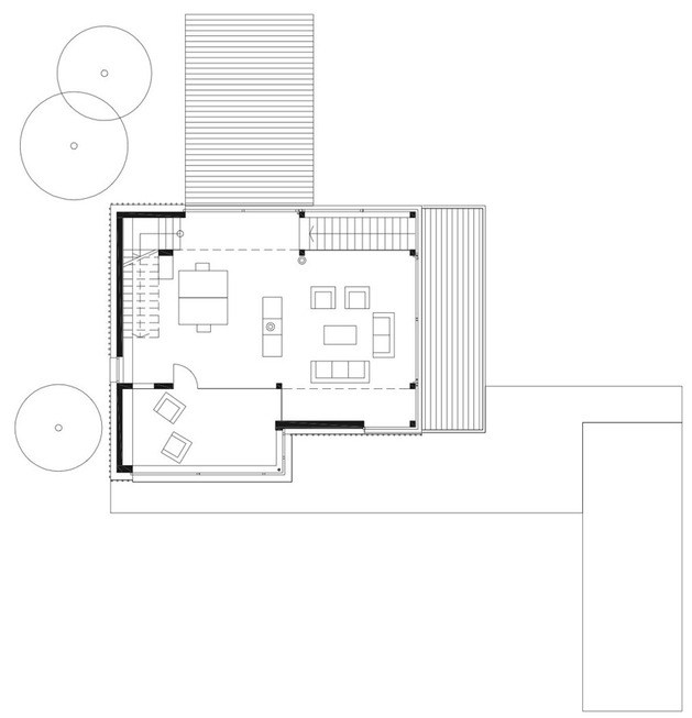 Mountain house plans dreamy holiday homes houz buzz for Holiday home builders floor plans
