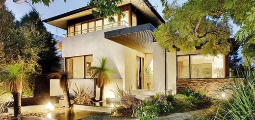 Light frame house plans modern times adapted homes houz buzz - Building a garden pond step by step extra aesthetics and value ...