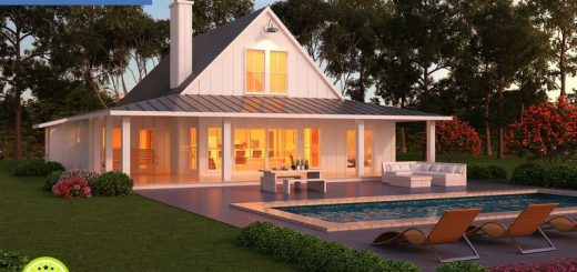 One story house plans with porch - Plans houses terrace enjoy relaxed lifestyle ...