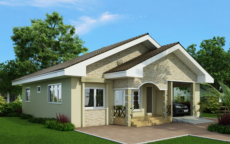 we start the week with three modern one story house plans we have selected in the following rows projects of houses with a single floor - Modern One Story House Plans