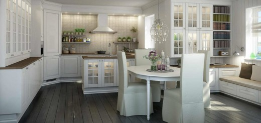 Norwegian style interior design in the north