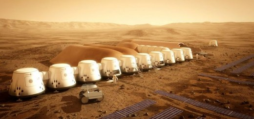 Homes built from recycled materials on Mars