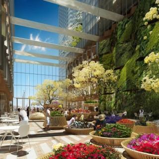 Winter gardens in large cities