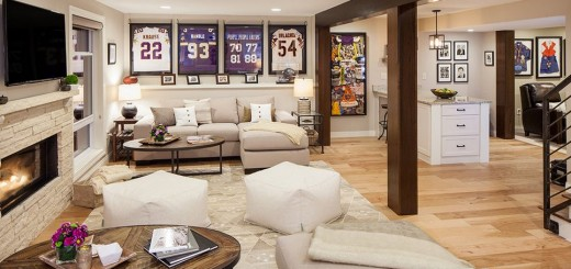 A dream basement for the house