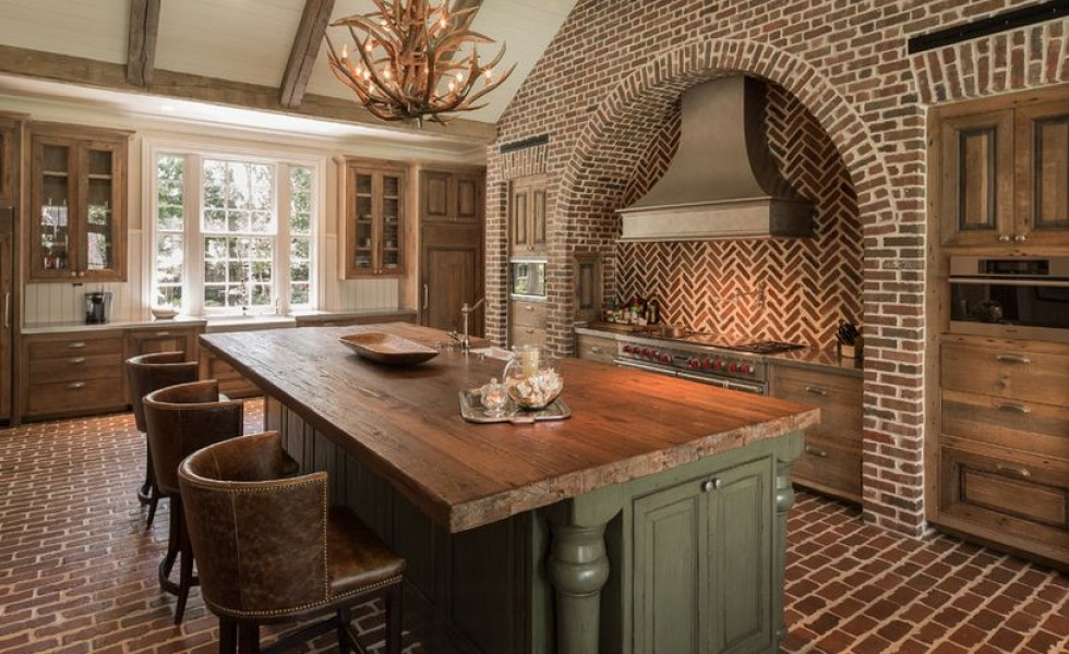 Reclaimed brick design ideas for home