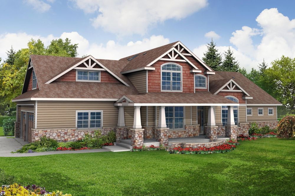 One story craftsman house plans - What is a craftsman house ...