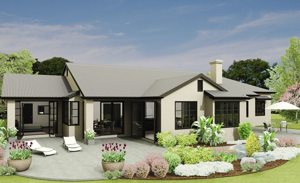 Four bedroom home plans for large families