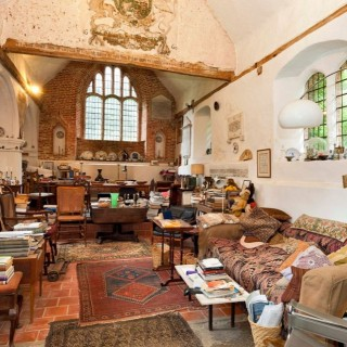 Homes in old churches in England